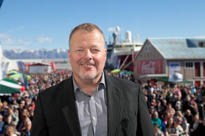 Júlíus Júlíusson, framkvæmdastjóri Fiskidagsins mikla á Dalvík.