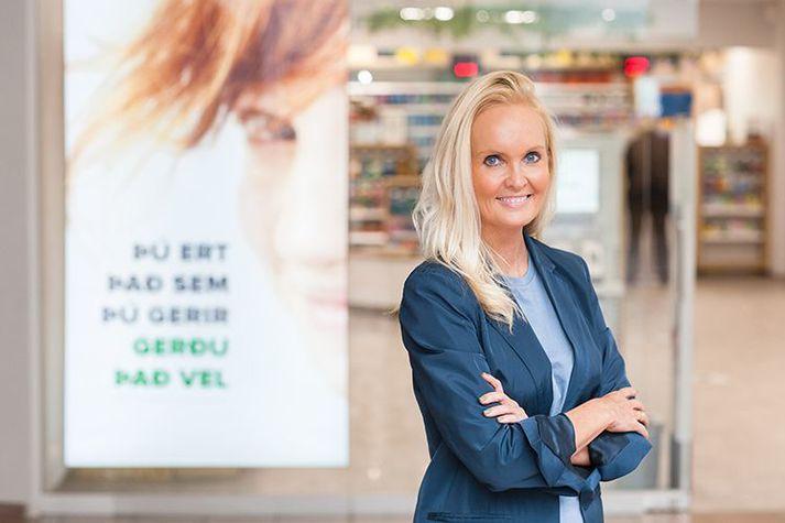 Sigríður Margrét Oddsdóttir, framkvæmdastjóri Lyfju.