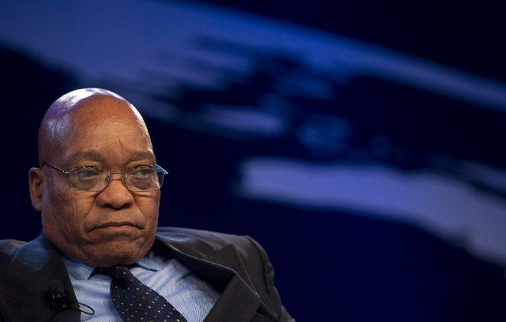 Jacob Zuma tók við forsetaembættinu í Suður-Afríku árið 2009.