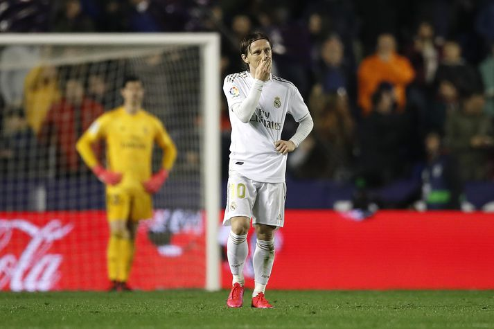 Luka Modric og félagar áttu ekki gott kvöld.