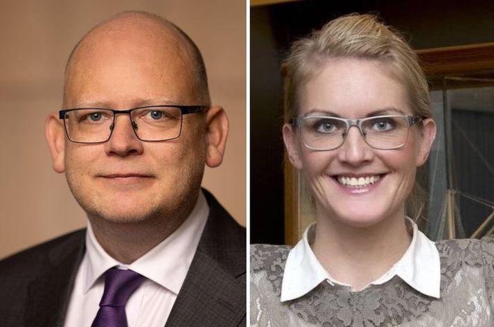 Bergsteinn Ó. Einarsson og Sara Pálsdóttir.