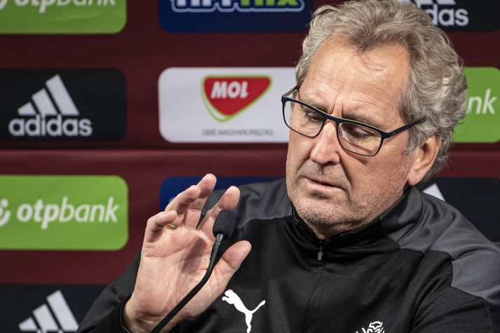 Erik Hamren er að fara að kveðja íslenska landsliðið á Wembley annað kvöld.