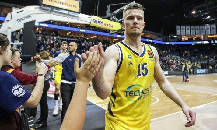 Martin Hermannsson lék með Alba Berlin í tvö ár. Nú tekur nýtt ævintýri á Spáni við.