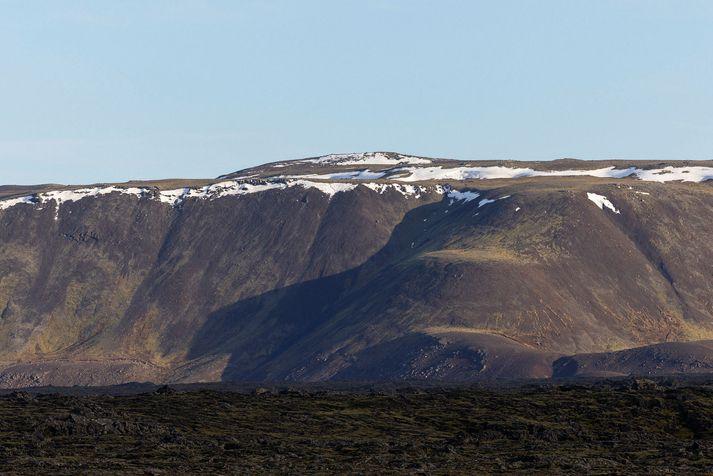 Mestar líkur eru á að eldur kæmi upp á Fagradalssvæðinu taki kerfið upp á því að gjósa.