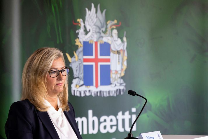 Alma Möller er landlæknir.