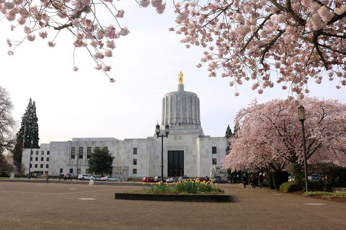 Ríkisþingið í Salem í Oregon