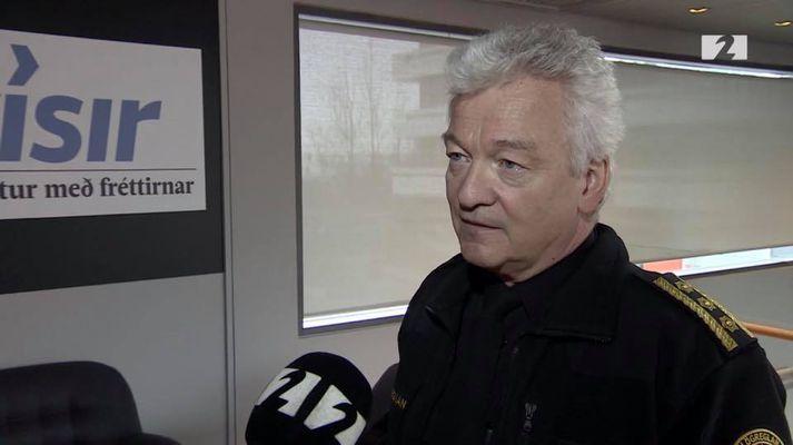 Ólafur Helgi Kjartansson lögreglustjóri á Suðurnesjum.