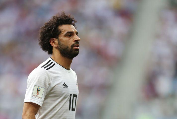 Það var nóg að gera hjá Salah gegn Níger