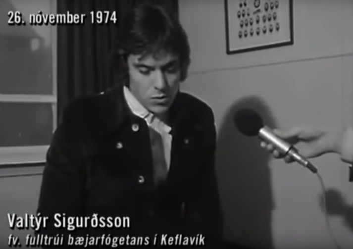 Úr viðtali við Valtý Sigurðsson árið 1974.