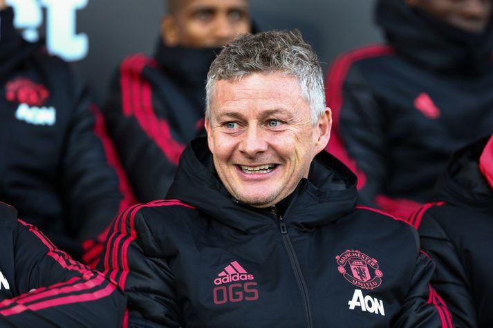 Þökk sé Ole Gunnar Solskjær eru allir farnir að brosa aftur í herbúðum Manchester United.
