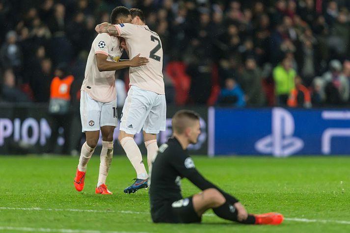 Frá fræknum sigri United í fyrra.