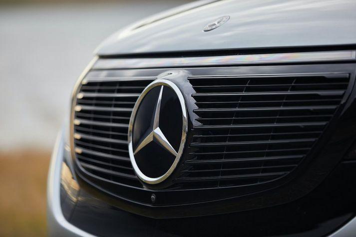 Mercedes-Benz tvöfaldaði markaðshlutdeild sína á Íslandi í fyrra.