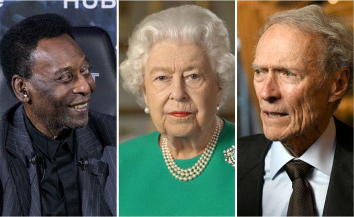 Tilkynningar um andlát Pelé, Elísabetar og Clint Eastwood voru óvart birtar.