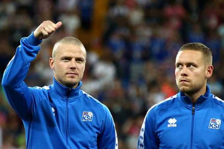 Ragnar Sigurðsson og Sverrir Ingi Ingason.