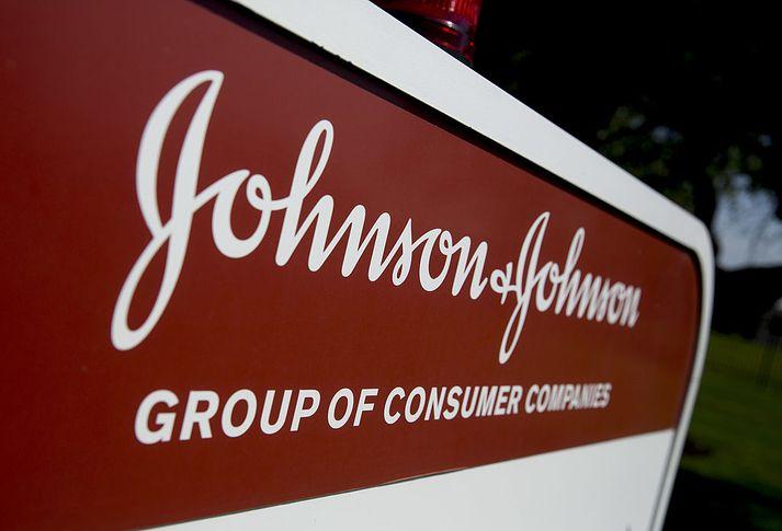 Johnson & Johnson er sakað um að hafa visvitandi ýtt undir ópíóðafaraldurinn.