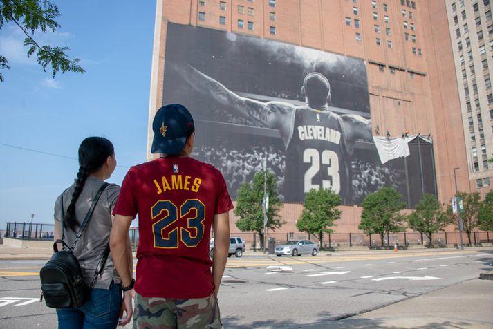 LeBron hefur kvatt Cleveland