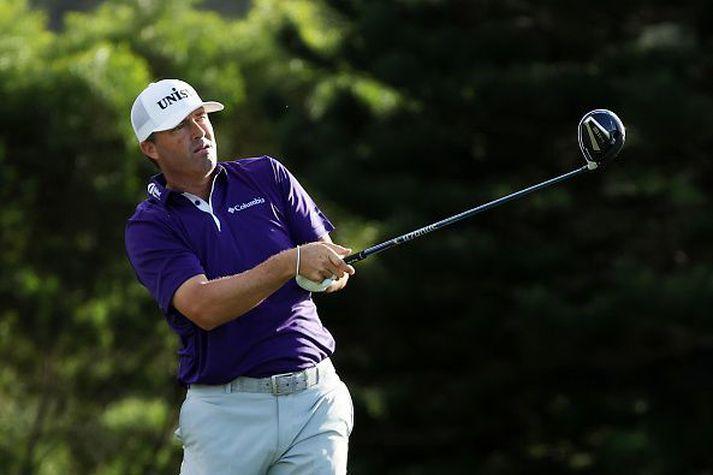 Ryan Palmer lék frábært golf í nótt.