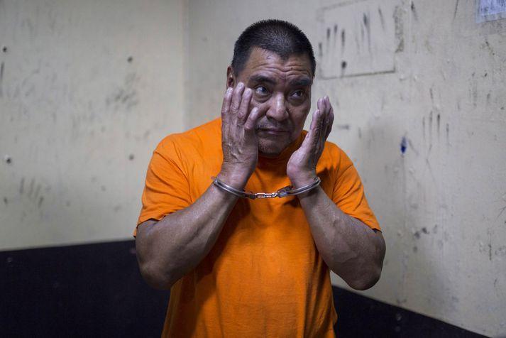 Santos López Alonzo var meðlimur í uppreisnarhópnum Kaibil.