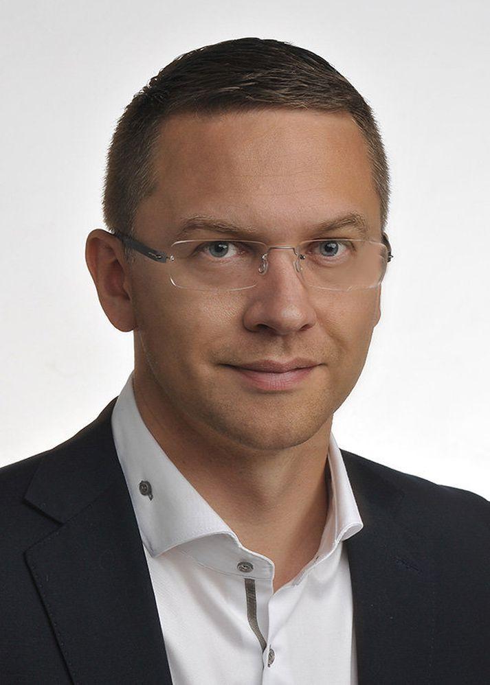 Davíð Rúdólfsson, stjórnarformaður Jarðvarma.