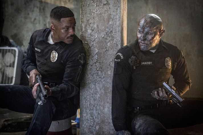 Will Smith og Joel Edgerton leika aðalhlutverkin í Bright.