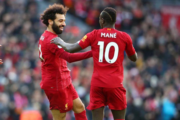 Mohamed Salah og Sadio Mane gætu misst af mörgum leikjum Liverpool liðsins í upphafi næsta árs.