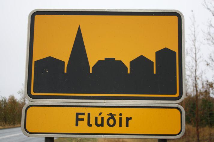 Fjölgun íbúa Hrunamannahrepps er mest á Flúðum og á svæðinu þar í kring.