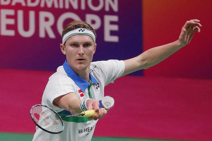 Daninn Viktor Axelsen er frábær badminton spilari og hefur unnið verðlaun á ÓL, HM og EM.