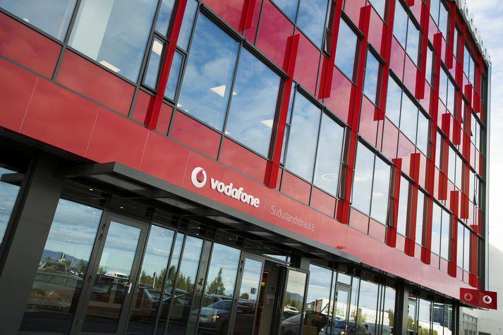 Höfuðstöðvar Vodafone að Suðurlandsbraut.
