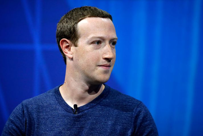 Mark Zuckerberg, stofnandi og forstjóri Facebook.