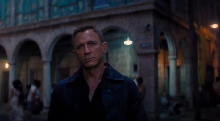 Daniela Craig sem Bond í síðasta sinn.