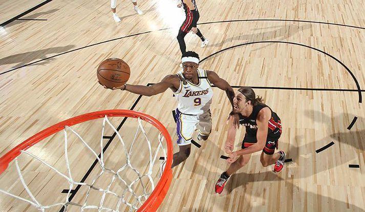 Rondo er mættur aftur til Lakers.