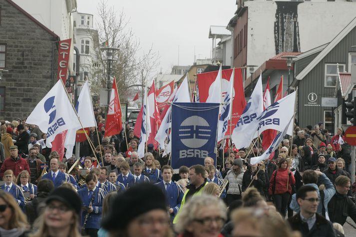 Samningar BSRB hafa verið lausir frá 1. apríl.