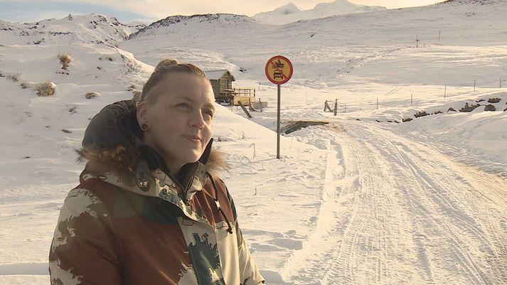 Rut Rúnarsdóttir, formaður Skíðadeildar Snæfellsness.