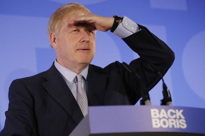 Boris Johnson þykir sigurstranglegur.