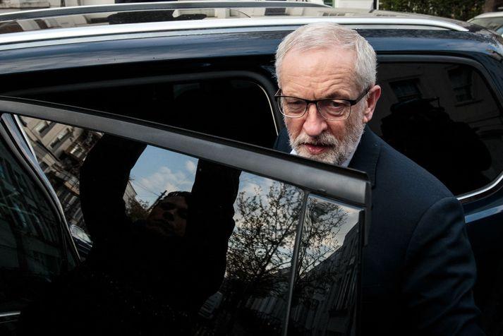 Jeremy Corbyn er leiðtogi stjórnarandstöðunnar í Bretlandi og formaður Verkamannaflokksins.