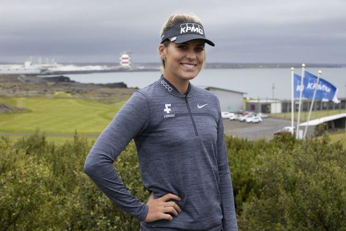 Ólafía lék flott golf í Frakklandi í dag