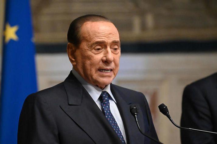Silvio Berlusconi lýsti Covid-19-veikindum sínum í fyrra sem hættulegustu áskorun lífs síns.