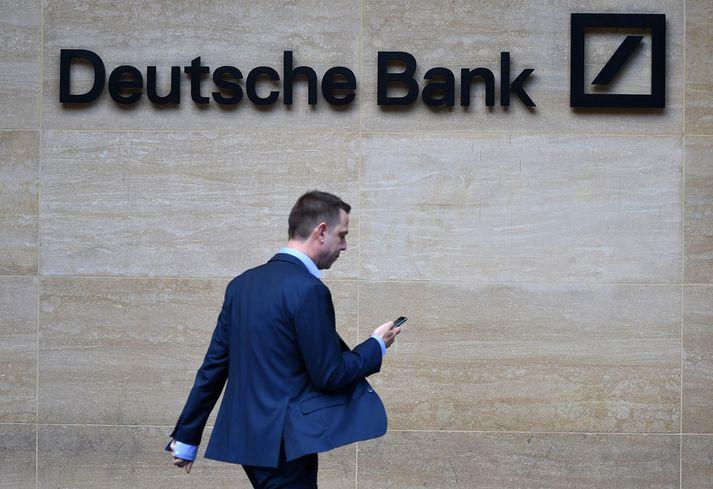 Deutsche bank hefur verið helsti lánveitandi Bandaríkjaforseta. Hann vill nú að bankinn svari ekki stefnum Bandaríkjaþings um gögn.