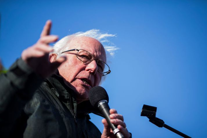 Bernie Sanders er bandarískur öldungadeildarþingmaður.