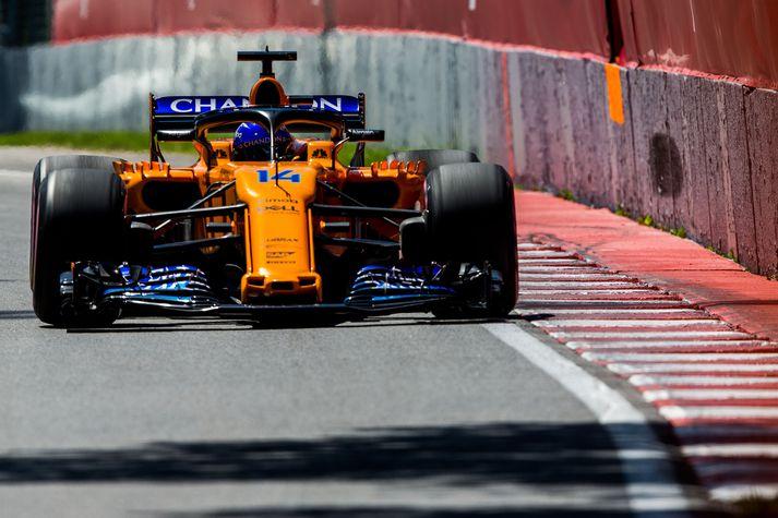 Alonso í kappakstri helgarinnar.