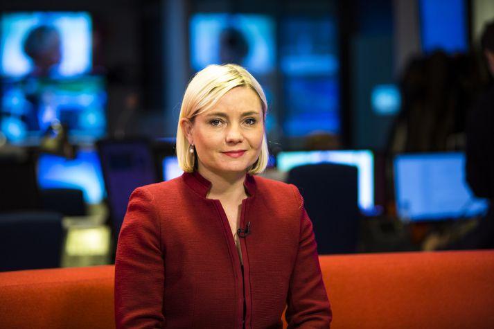 Lilja Alfreðsdóttir, mennta- og menningarmálaráðherra, vill styrkja einkarekna fjölmiðla.