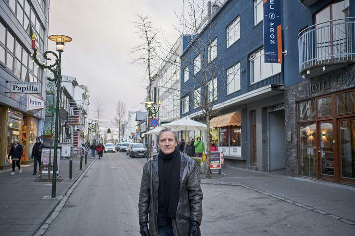 Jóhann Helgason tónlistarmaður. Fréttablaðið/Anton Brink
