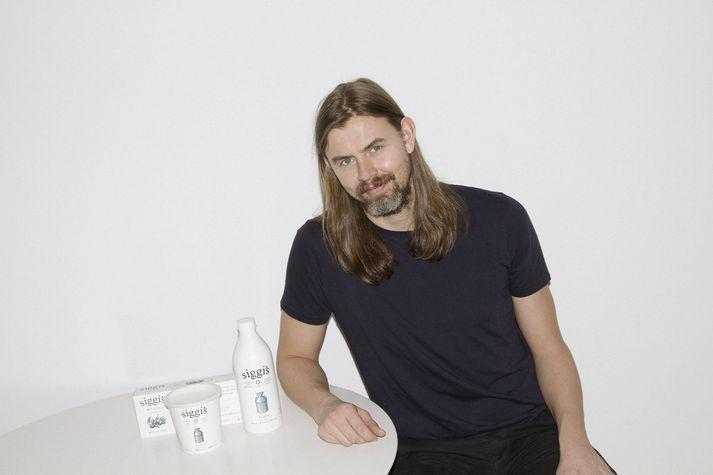 Sigurður Kjartan Hilmarsson er einn eigenda The Icelandic Milk and Skyr Corporation í New York. Vinsælasta varan, Siggi's skyr, er byggð á íslenskri uppskrift.