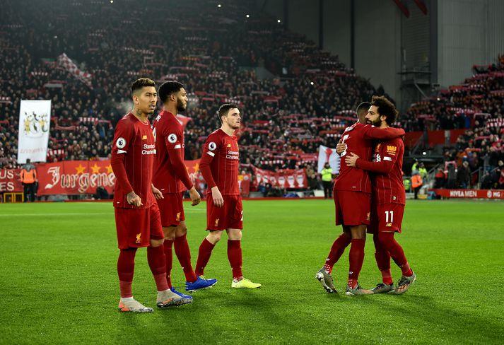 Liverpool hefur unnið 21 af fyrstu 22 leikjum sínum í ensku úrvalsdeildinni.