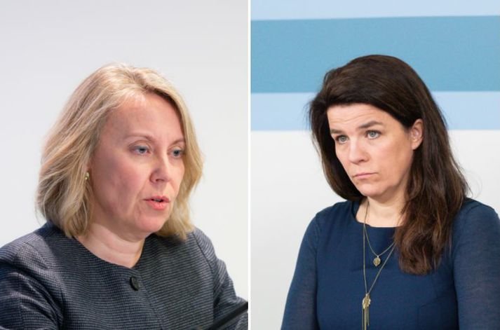 Sigríður Á. Andersen og Helga Vala Helgadóttir ræddu nýjustu bylgju MeToo á Sprengisandi.