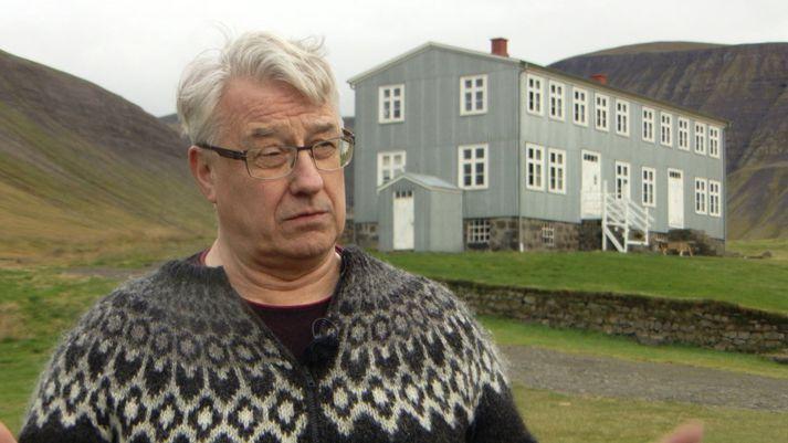 Rögnvaldur Guðmundsson, formaður Ólafsdalsfélagsins.