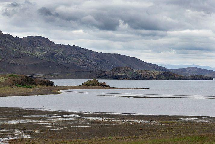 Jarðskjálftinn mældist 3,4 að stærð.