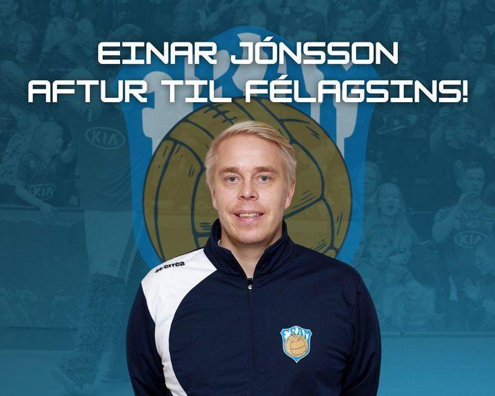 Einar er á leið í Safamýrina á ný.