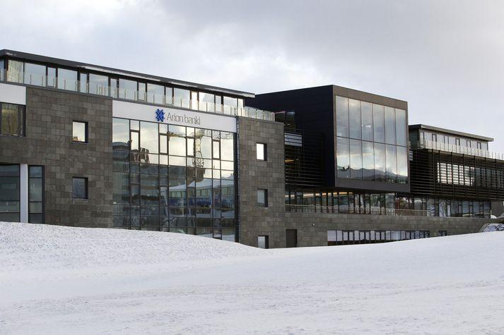 Kaupþing á fyrir 57 prósenta hlut í Arion banka.