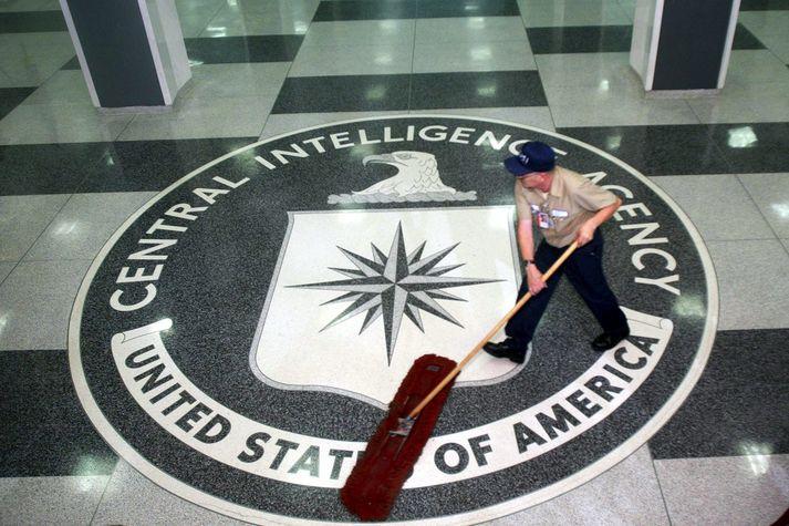 Frá höfuðstöðvum bandarísku leyniþjónustunnar CIA.